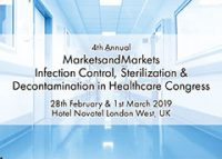 4th Annual Infection Control, Sterilization and Decontamination Congress Announced with Speaker Line-up of Leading NHS Hospitals