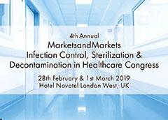 4th Annual MarketsandMarkets Infection Control, Sterilization & Decontamination in Healthcare Congress