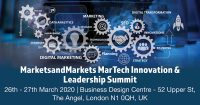 Building A Future-Ready MarTech Strategy at the MarketsandMarkets MarTech Innovation & Leadership Summit – A combination of Artificial Intelligence, Machine Learning, Big Data and Customer Experience