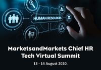 Tandem, Peachy Mondays, Intel, HiringSolved Inc., and Leapgen will be at the MarketsandMarkets Chief HR Tech Virtual Summit (13-14 August 2020)