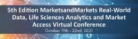 Real World Evidence is key for pharma organizations in drug development- 5th Edition MarketsandMarkets Real-World Data, Life Sciences Analytics and Market Access Virtual Conference